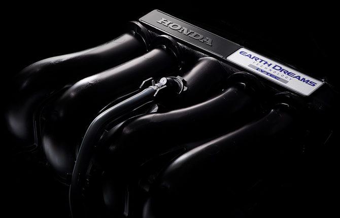 新型フリードガソリン車エンジン