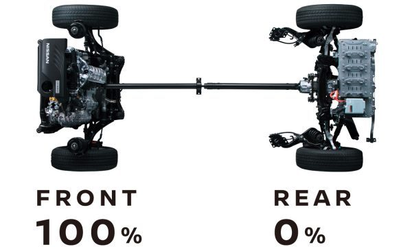 2WDモード