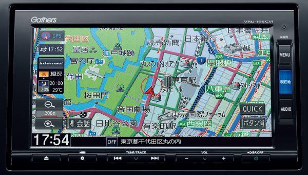 Honda インターナビ+リンクアップフリー+ETC2.0車載器