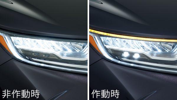 LEDアクティブヘッドライト