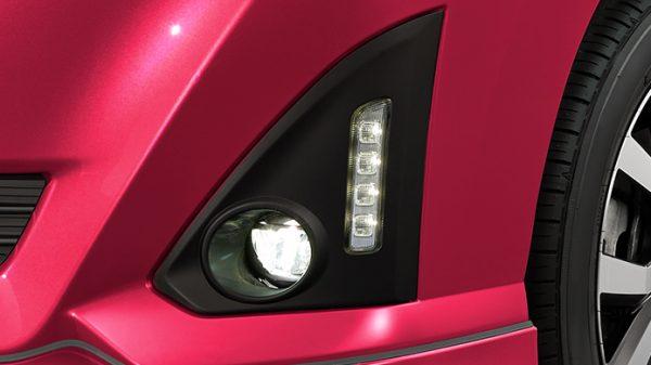 LEDフロントフォグランプ+LEDイルミネーションランプ